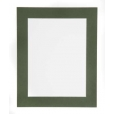 Dark Green Single Picture Mount