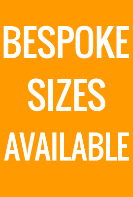 BESPOKE sizes